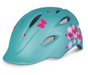 R2 helma DUCKY mentolově zelená, růžová