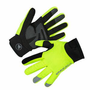 Endura zimní rukavice Strike svítivě žluté