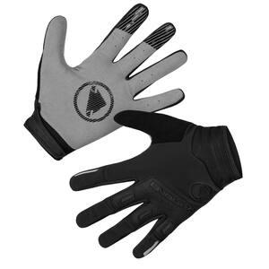Endura větru odolné rukavice SINGLETRACK black