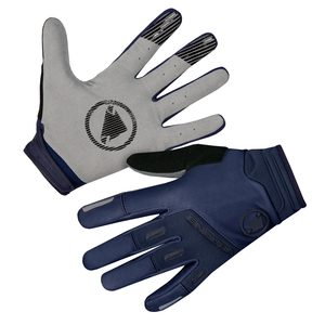 Endura větru odolné rukavice SINGLETRACK navy