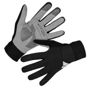 Endura větru odolné rukavice Windchill černé