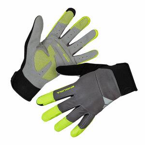 Endura větru odolné rukavice Windchill svítivě žlutá