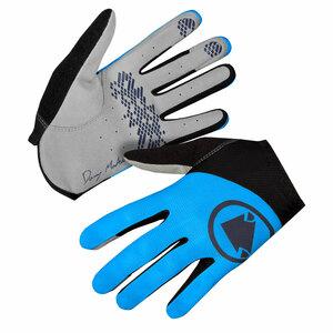 Endura rukavice HUMMVEE Lite Icon LTD modré eletric