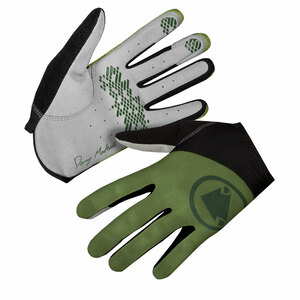 Endura rukavice HUMMVEE Lite Icon LTD olivově zelené