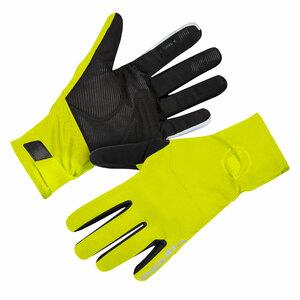 Endura zimní rukavice Deluge svítivě žluté