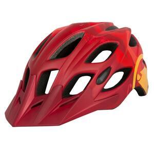 Endura helma HUMMVEE červená