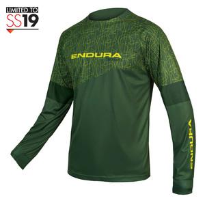 Endura dres s dlouhým rukávem MT500 Print forest green