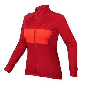 Endura dámský dres FS260-PRO Jetstream červený