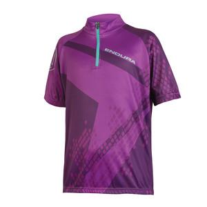 Endura dětský dres RAY fialový