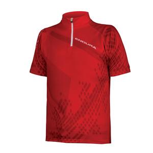 Endura dětský dres RAY červený