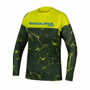 Endura dětský dres MT500JR T LTD limetkově zelený