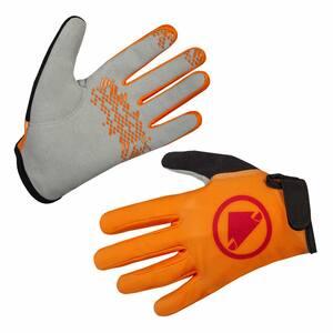 Endura dětské rukavice HUMMVEE mandarinková