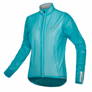 Endura dámská bunda FS260-Pro Adrenaline Race Cape II modrá pacifik