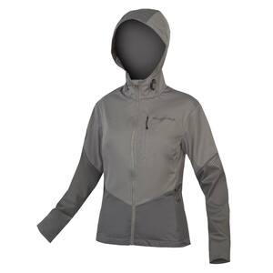 Endura dámská bunda SINGLETRACK Softshell II šedá