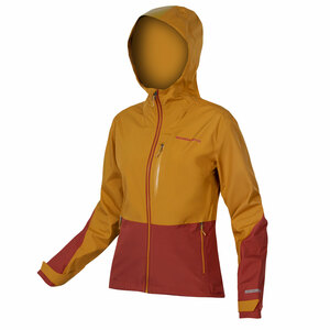 Endura dámská bunda SINGLETRACK muškátový oříšek