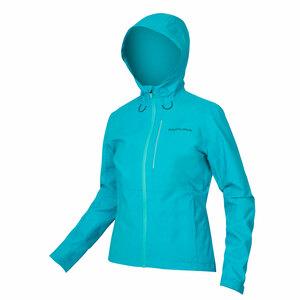 Endura dámská bunda Hummvee s kapucí modrá pacifik