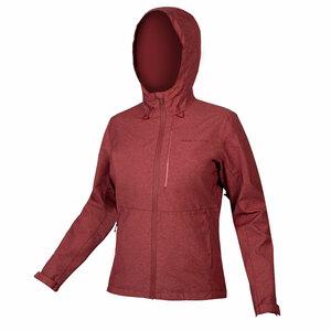 Endura dámská bunda Hummvee s kapucí kakaová