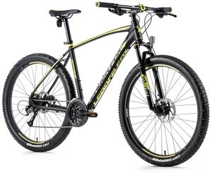 Leader Fox horské kolo ESENT černá mat/žlutá