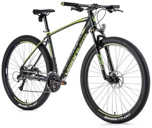 Leader Fox horské kolo ESENT černá mat/zelená