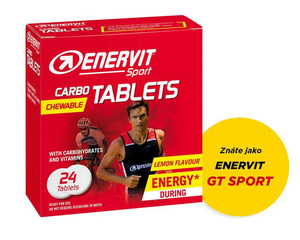 Enervit energetické tablety Carbo Tablets