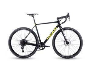 Head gravel kolo I SPEED CROSSPRO black/yellow