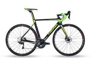 Head silniční kolo I-Speed III black matt/green