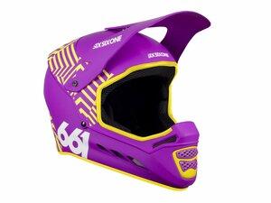 SixSixOne přilba RESET dazzle purple