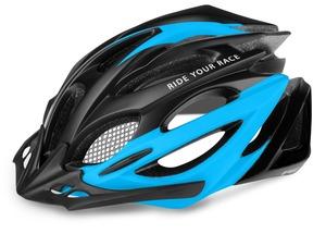 R2 helma PRO-TEC černá, modrá / matná