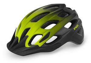 R2 helma CLIFF černá, neon žlutá / matná