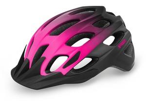 R2 helma CLIFF černá, růžová / matná