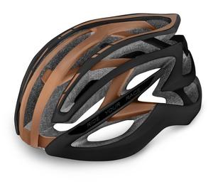 R2 helma EVO 2.0 matná černá, bronz
