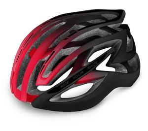 R2 helma EVO 2.0 matná černá, červená