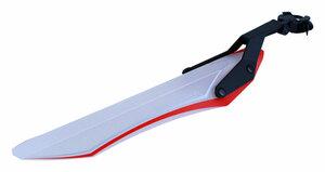 Flinger blatník zadní MTB SW-119R transparent - red