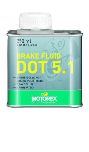 Motorex brzdová kapalina BRAKE FLUID DOT 5.1 250ml