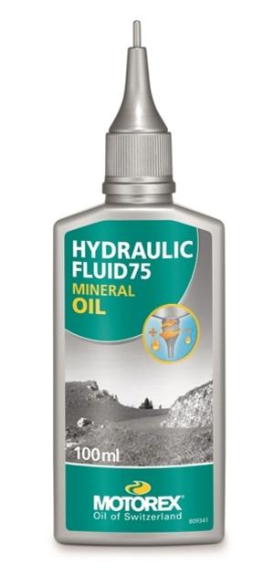 Motorex brzdová kapalina minerální olej HYDRAULIC FLUID 75 100ml