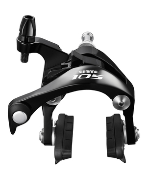 Shimano brzdové čelisti 105 BR5800 černé set
