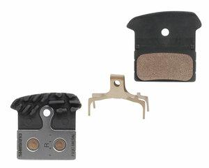 Shimano brzdové desky J04C s chladičem kovové