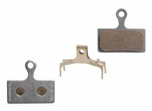 Shimano Brzdové destičky G04S kovové