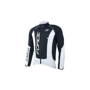 Force bunda dlouhý rukáv X68 PRO, černo-bílá
