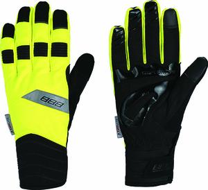 BBB zimní rukavice WATERSHIELD BWG-29 neon