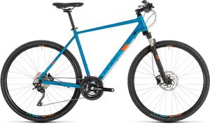 Cube crossové kolo CROSS PRO blue orange