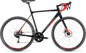 Cube cyklokrosové kolo CROSS RACE black red