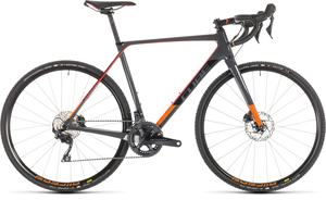 Cube cyklokrosové kolo CROSS RACE C:62 PRO grey red