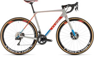 Cube cyklokrosové kolo CROSS RACE C:62 SLT grey red