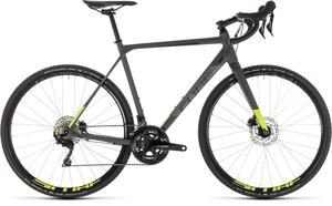 Cube cyklokrosové kolo CROSS RACE PRO grey flashyellow