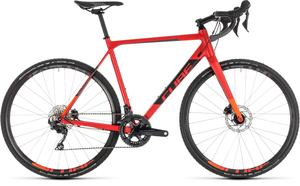 Cube cyklokrosové kolo CROSS RACE SL red orange
