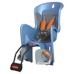Polisport dětská sedačka BILBY zadní, modrostříbrná