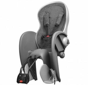 Polisport dětská sedačka WALLABY DeLuxe zadní, stříbrná