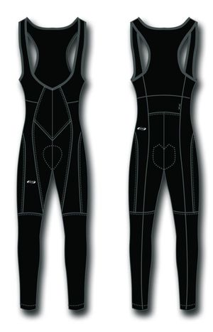 BBB dlouhé kalhoty TIGHTSHIELD BBW-126 s vložkou