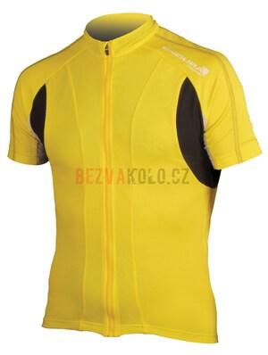 Endura Dres FS260 Pro Jersey II yellow